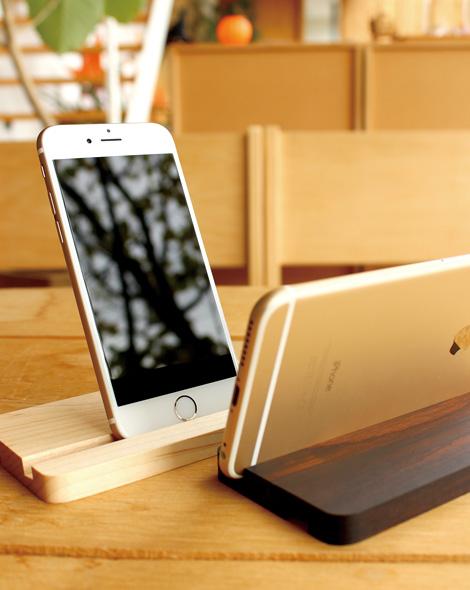 シンプルなiPhone6/6 Plus用スタンド